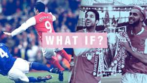 Eduardo Cesc Fabregas Theo Walcott Arsenal What If GFX