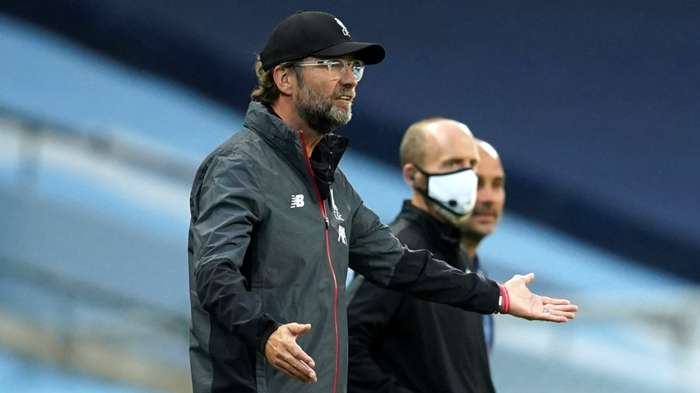 Jurgen Klopp Manchester City vs Liverpool Premier League 2019-20