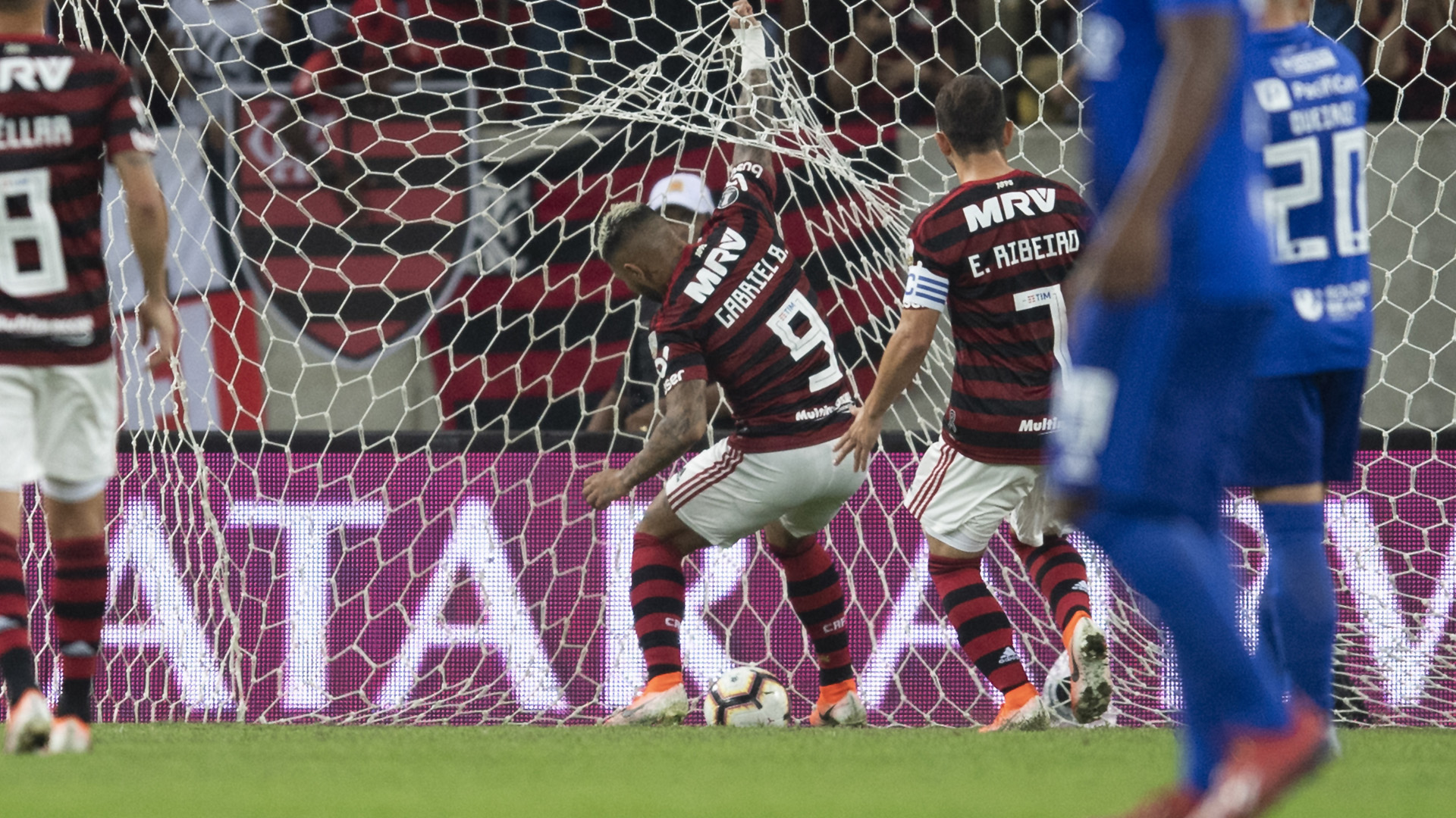Gabigol Flamengo Emelec Libertadores 31072019