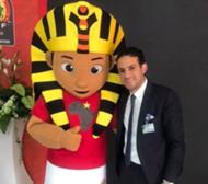 محمد فضل - تميمة كأس أمم أفريقيا 2019