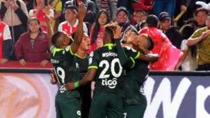 Santa Fe Atlético Nacional Liga Betplay 2020