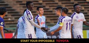 (Toyota sponsor) Ha Noi vs NagaWorld AFC Cup 2019