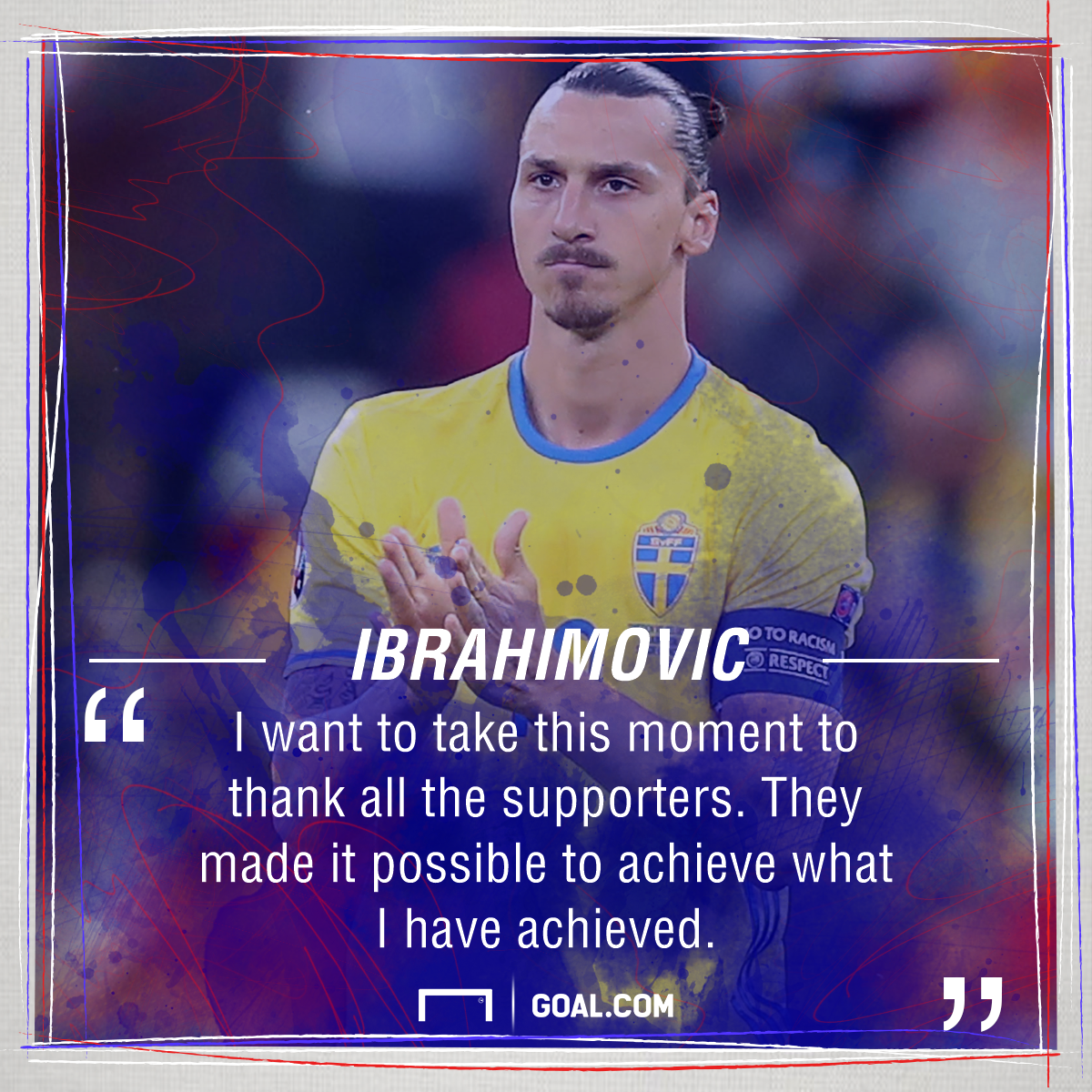 Zlat S All Folks Ibrahimovic S Sweden Career Ends In Defeat Not Disappointment Goal Com