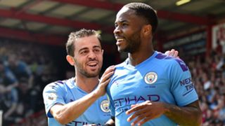 Raheem Sterling Bernardo Silva Bournemouth vs Manchester City 2019-20