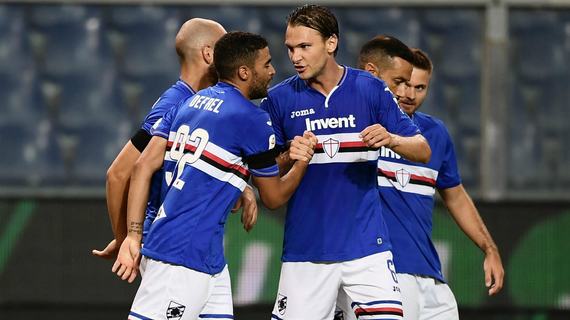 Defrel Sampdoria SSC Napoli 02092018