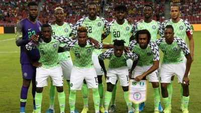 Nigeria national team line up