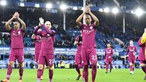 Fernandinho David Silva Everton Manchester City 31032018 Premier League