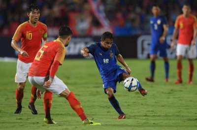 ทีมชาติไทย - ทีมชาติจีน