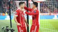 James y Lewandowski Bayern