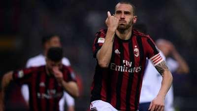 Leonardo Bonucci Milan Crotone Serie A