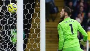 David de Gea Manchester United Watford 2019-20