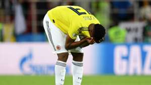 Yerry Mina Colombia England World Cup 2018