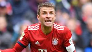 Muller exit speculation played down by Bayern chief Rummenigge but admits forward will not want to remain on bench