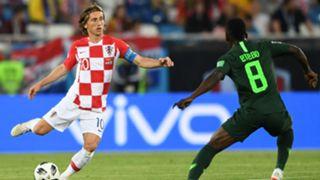 Luka Modric, Oghenekaro Etebo, Croatia vs Nigeria