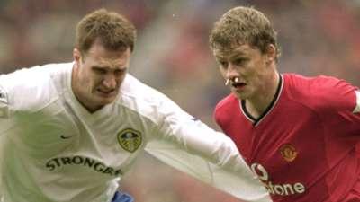 Leeds United Manchester United Danny Hay Ole Gunnar Solskjaer 2000