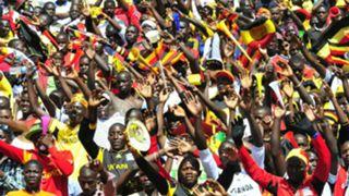 Uganda fans photo.