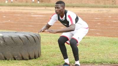 Harambee Stars midfielder Anthony Akumu.