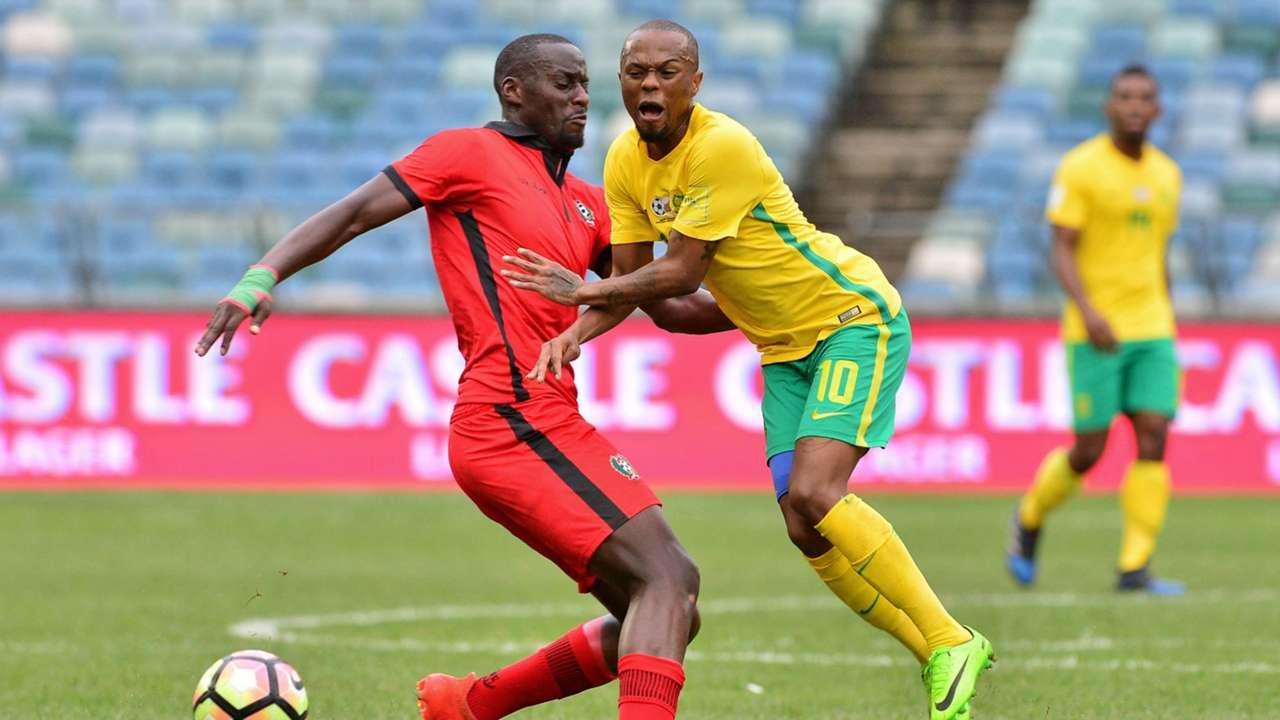 Thulani Serero of Bafana Bafana against Guinea-Bissau