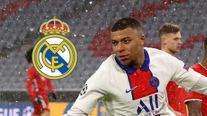 Kylian Mbappe PSG Real Madrid