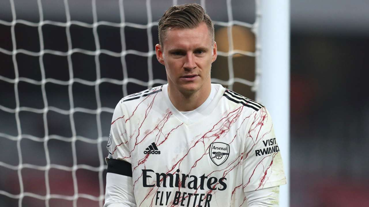 Bernd Leno Arsenal vs Wolves Premier League 2020-21