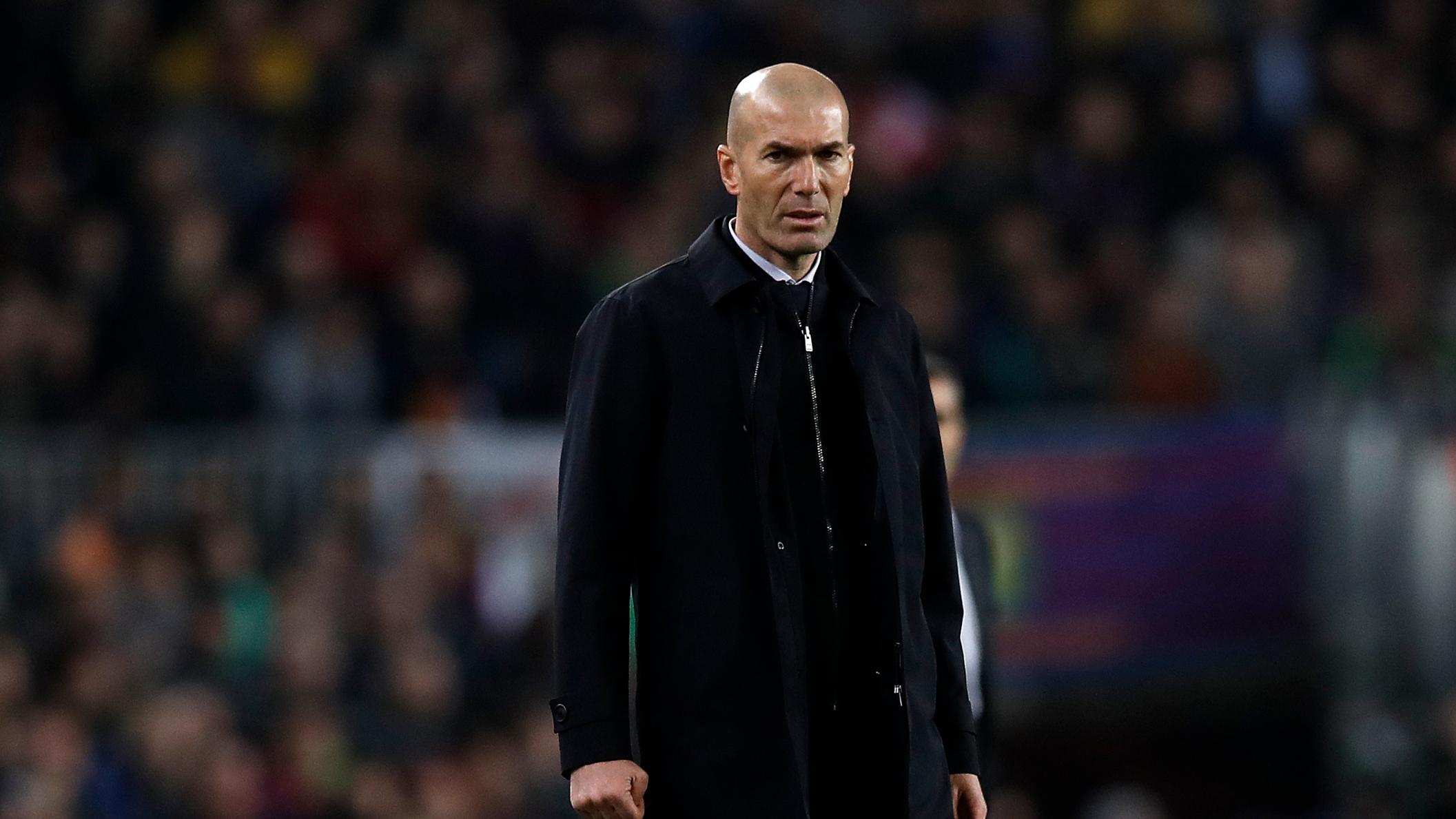 """Real Madrid, Zidane : """"Hazard ne jouera pas la Super Coupe, c'est sûr à 100%"""""""