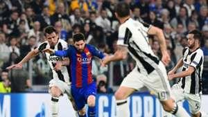 Mandzukic Messi Juventus Barcelona Champions League 11 04 2017