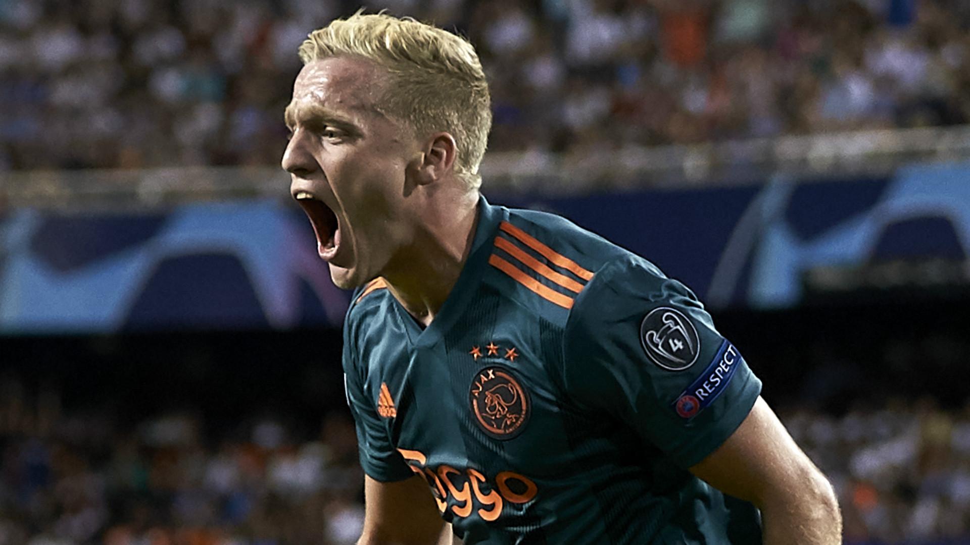 Man Utd Sign Ajax Star Van De Beek In 35m Deal Goal Com