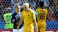Antoine Griezmann Aaron Mooy France Australia World Cup 2018 160618