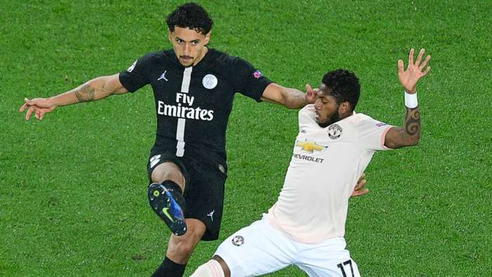 Marquinhos Fred PSG Manchester United UEFA Champions League 06032019