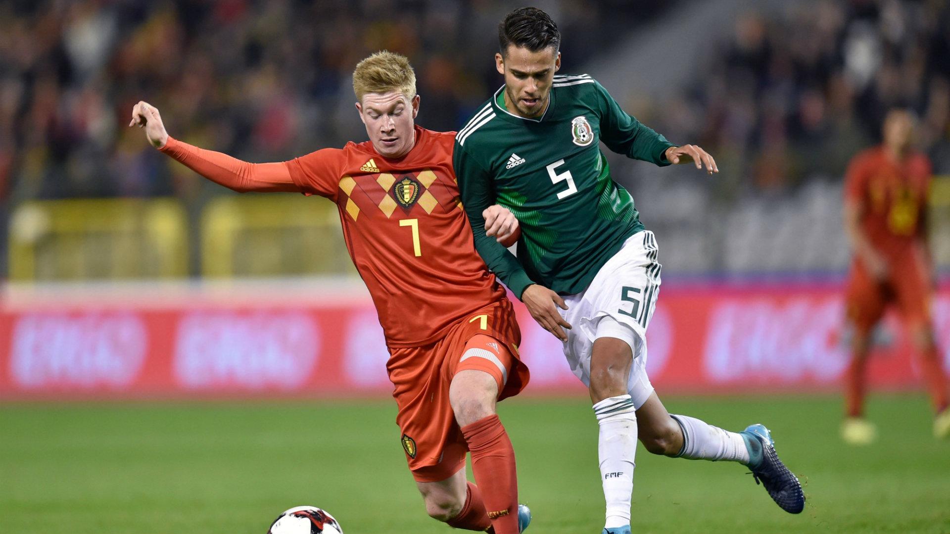 Kevin De Bruyne Belgium Diego Reyes Mexico