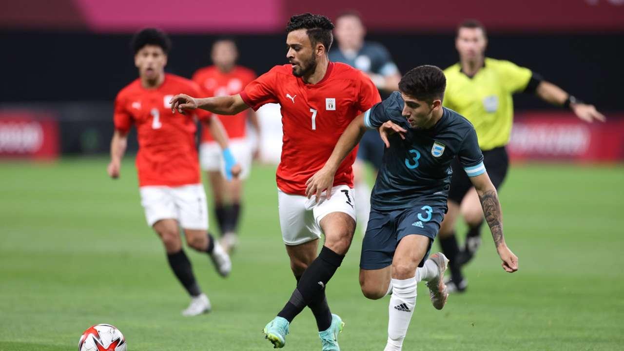 Egypt vs Argentina in Tokyo.