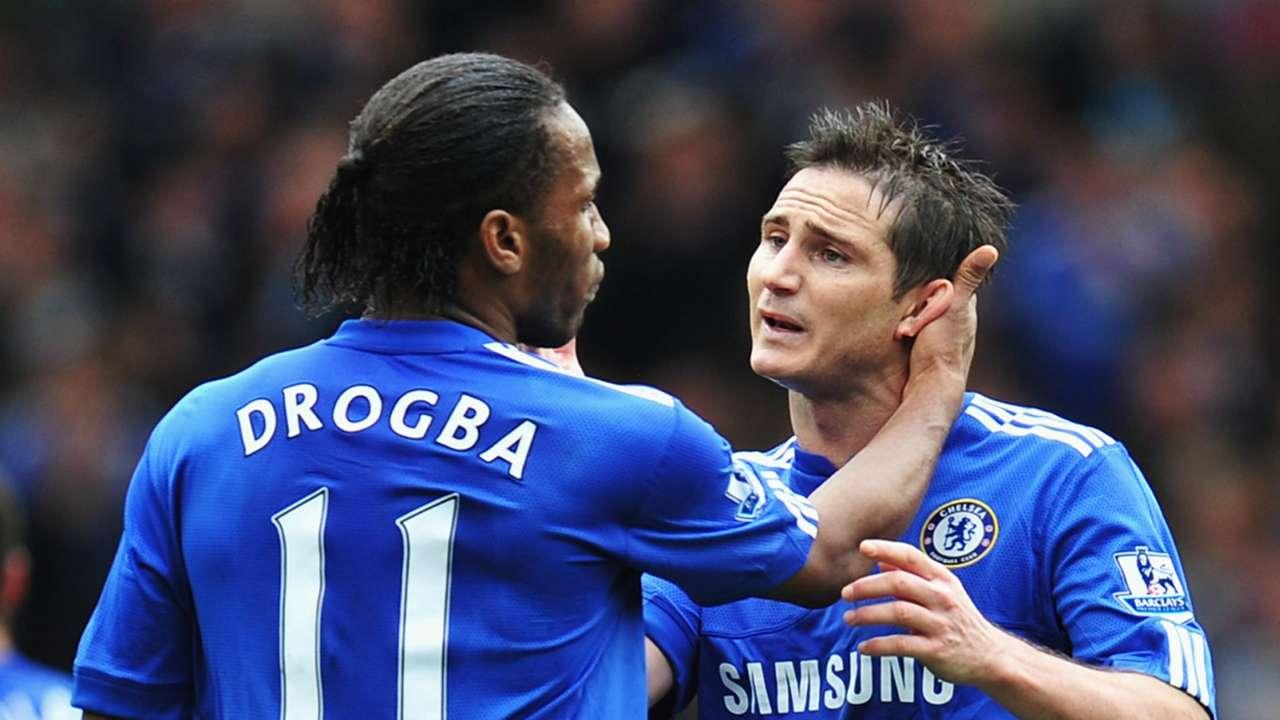 Didier Drogba Frank Lampard Chelsea