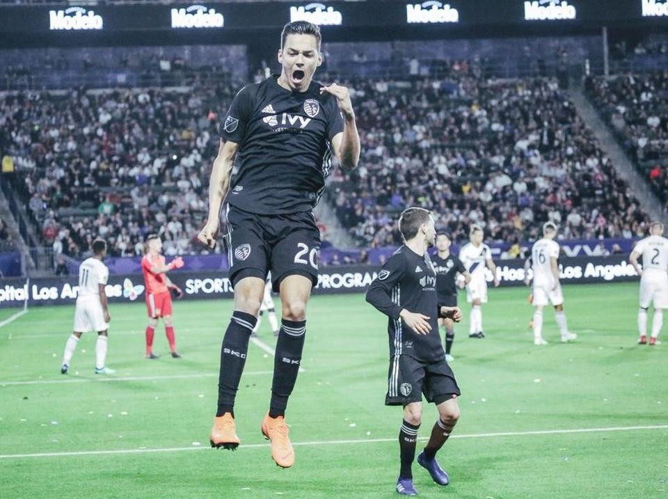 Sallói Dániel Sporting Kansas City MLS