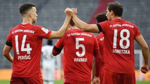 Ivan Perisic Leon Goretzka Bayern Frankfurt 2019-20