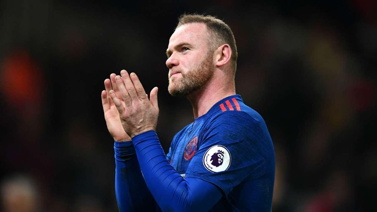 Wayne Rooney Premier League Stoke v Man Utd 210117