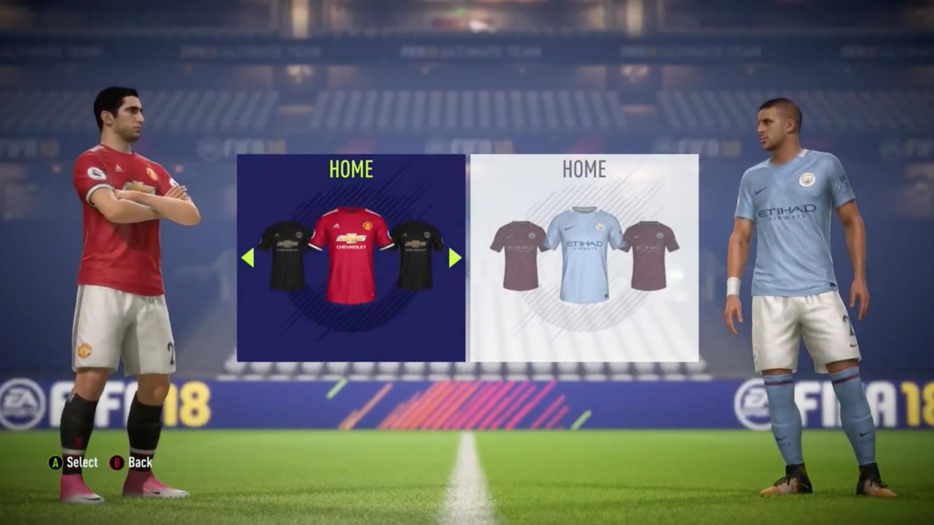Rival kick-off FIFA 18