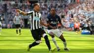 Ayoze Pérez & Kyle Walker-Peters : Newcastle United v Tottenham Hotspur