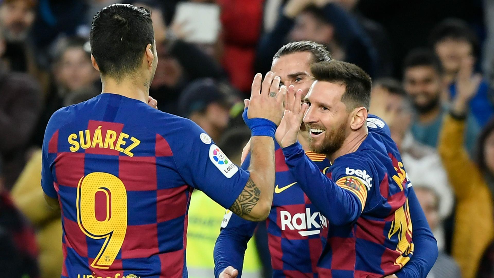 Ernesto Valverde heaps praise on Lionel Messi after Barcelona's win against Alaves