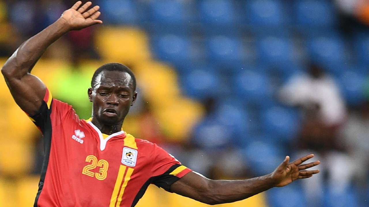 Uganda midfielder Mike Azira during the 2017 Africa Cup of Nations