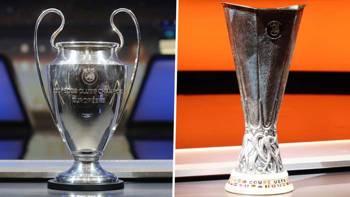Şampiyonlar Ligi Avrupa Ligi Kupa