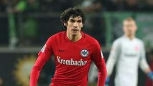 Jesus Vallejo Eintracht Frankfurt 17122016