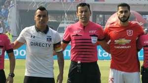 Johnny Herrera Esteban Paredes Superclásico Colo Colo Universidad de Chile 080417