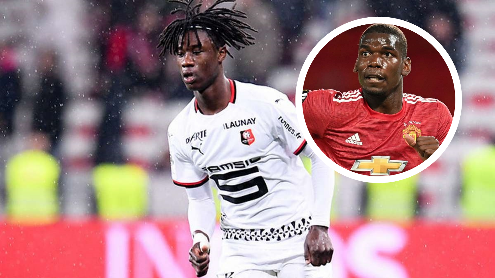 'I'm inspired by Pogba' - France wonderkid Camavinga hails influence of Man Utd star