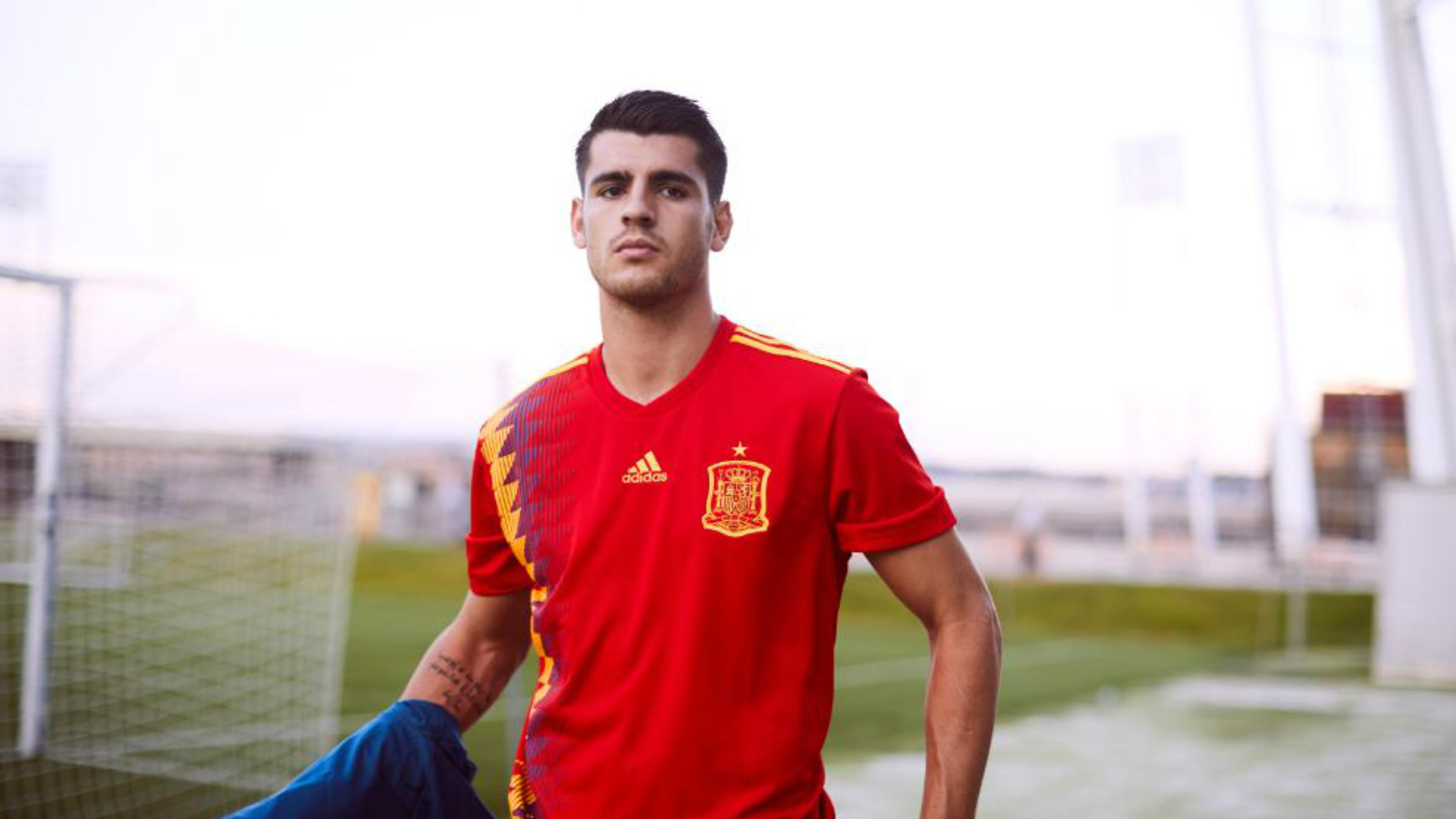 World Cup 2018 kit Spain home