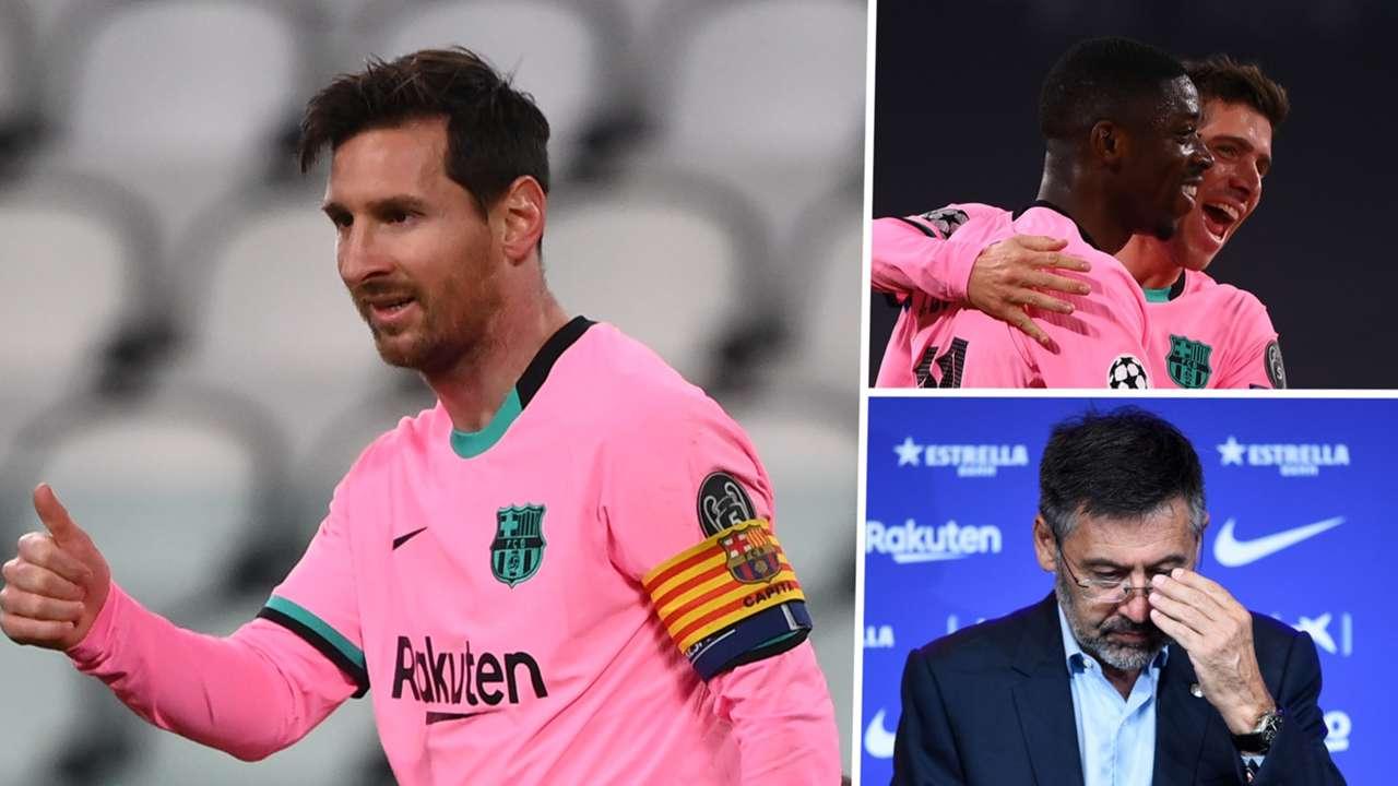 Messi Bartomeu Barcelona GFX