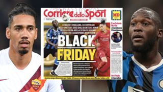 Chris Smalling Romelu Lukaku Corriere dello Sport