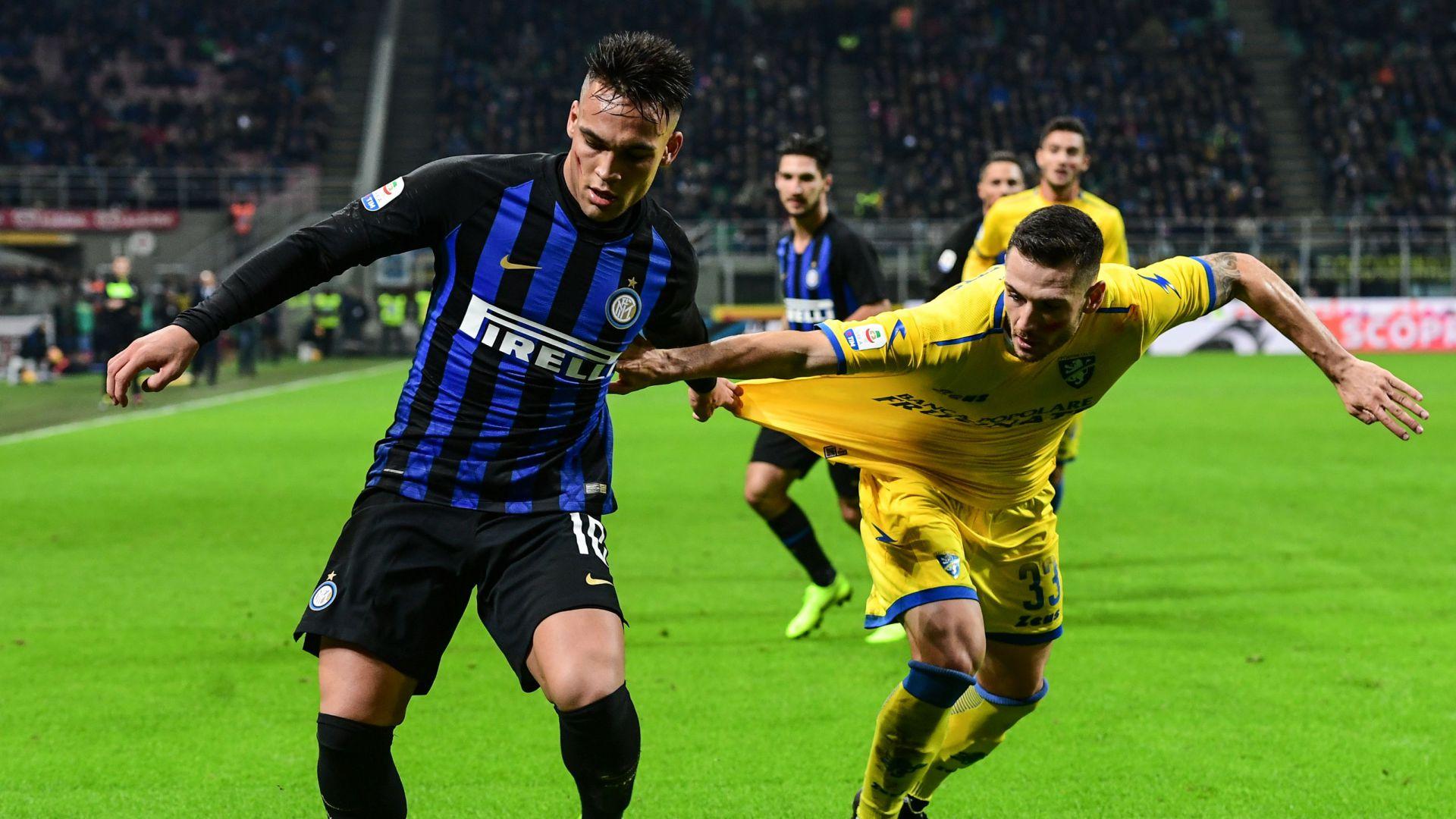 Frosinone Inter Formazioni C E Tv E Diretta Streaming Goal Com