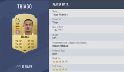 Thiago | FIFA 19