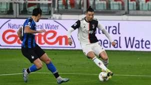 Cristiano Ronaldo Antonio Candreva Juventus Inter