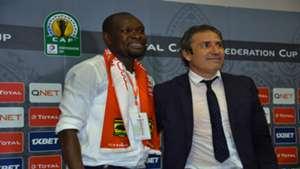 Kotoko coach Akonnor and Al Hilal coach